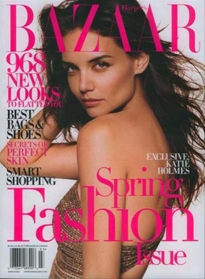 Katie Holmes se confiesa en Bazaar